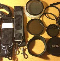 Sigma hood, acoperă Canon, etc