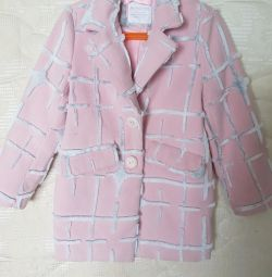 Children's short coat