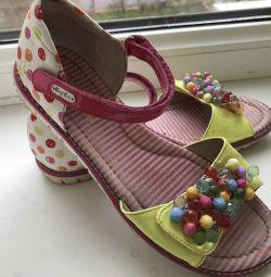 Sandals kapika, 22 cm, 34 size