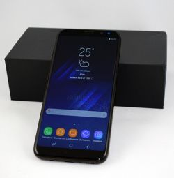 Новый Samsung Galaxy S 8 plus, black