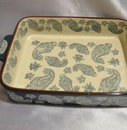 Ceramic dish for baking!