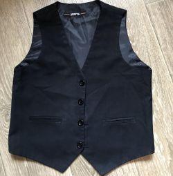 Schoolboy waistcoat 134 height