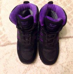 Ανδρικά παπούτσια μέγεθος χειμώνα 35-36