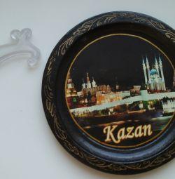 Тарелка сувенирная «Казань»