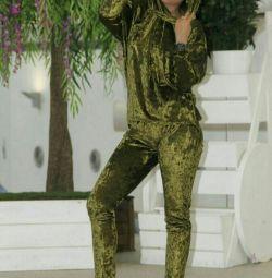 Κοστούμι βελούδο νέο 50-54r