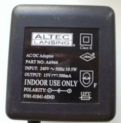 Charger Altec Lansing A6966