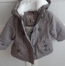 Parc jacheta încălzit fete New.1.5-2.5 ani