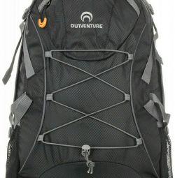 New functional backpack 25 liters black