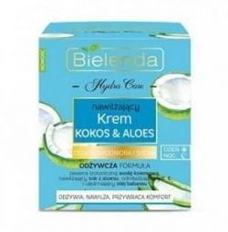 Bielenda Moisturizer Coconut & Aloe for dry and h