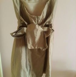 Cyntlnia vincent xs tarafından ipek elbise onikinci sokak