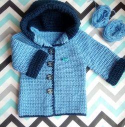 Handmade baby blouse