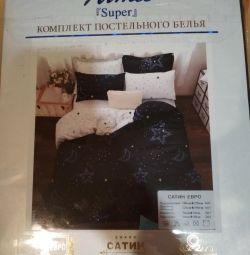 New bedding Euro. Satin.