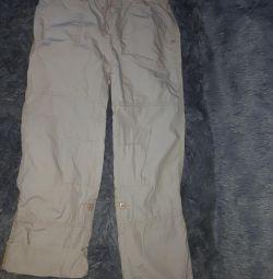 Pantaloni de vară.