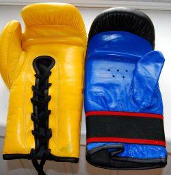 Mănuși de box thailandeze cu lac