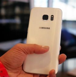 New Samsung Galaxy S 7, white