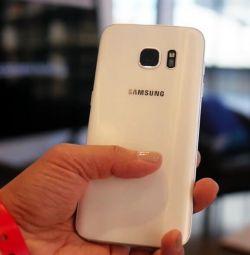 Новый Samsung Galaxy S 7 , white