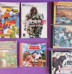 PC games discs