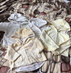 blouses from birth to year