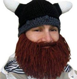 Viking Cap with Beard