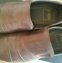 39-40 beden erkekler için ayakkabı