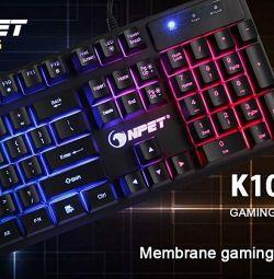 RGB NPet gaming keyboard