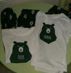 Πιτζάμες για την οικογένεια