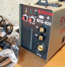 Automatic welding 2v1 semiautomatic device Hurricane MIG-600 New