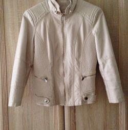 Куртка шкір. зам. S