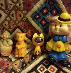 Rubber toys from the USSR!