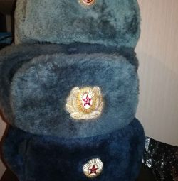 Caps - Ushanka officers
