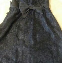 Платье из гипюра OODGI