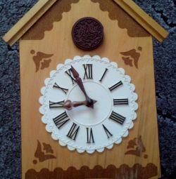 Wall Clock Cuckoo USSR