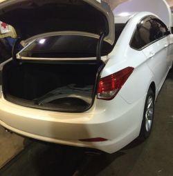 Installation gas cylinder equipment Hyundai i 40 GBO