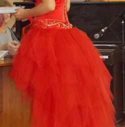 Платье на выпускной вечернее 2в1+прокат аренда