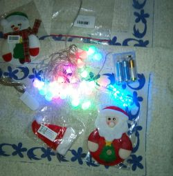 Garlands-set of 3pcs + New Year's souvenirs