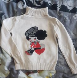 Turtleneck for 1.5-2 years old