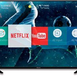 Hisense 109 см 4K smart tv wi-fi 2018 рік коробка