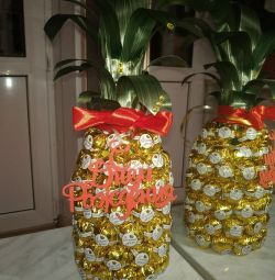 Candy Bouquet Pineapple