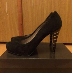Suede παπούτσια Fabiani