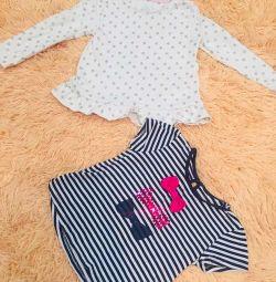 Tricou și tunica timp de 2-3 ani
