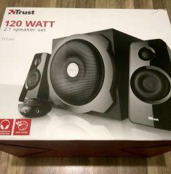Boxe 2.1 Trust Tytan Speaker System