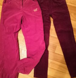 Jeans trousers r. 122,128,134