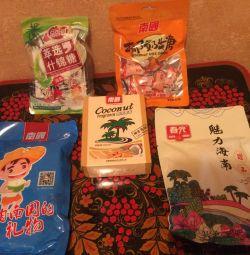 Солодощі натуральні з соком з Японії
