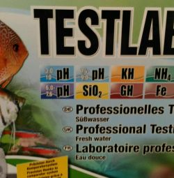 Тестирование пресной аквариумной воды