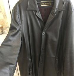 Jacket for men, leather. P64-66.