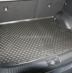 New boot mat for Hyundai
