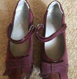 Παπούτσια για το κορίτσι 32 μεγέθη!
