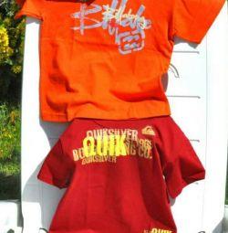 Νέες μπλούζες Super Quiksilver και Billabong