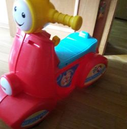 Musical motorcycle Fisher price