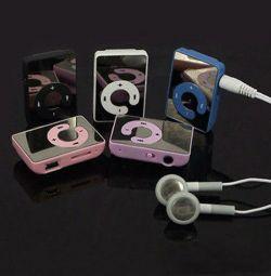 MP3 Player + Ακουστικά + Καλώδιο USB
